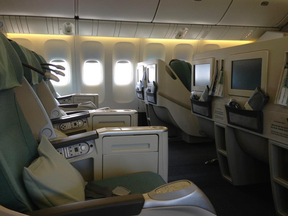 icn pek korean air flight review an entrepreneur. Black Bedroom Furniture Sets. Home Design Ideas