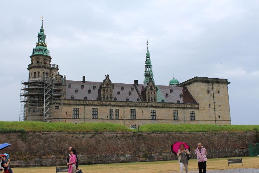 kronborg, castle, helsingor, copenhagen, denmark, europe, travel